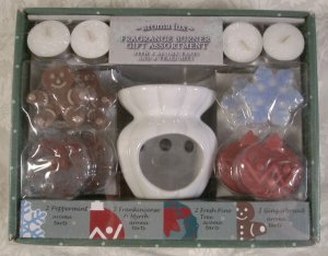 AROMA LUX FRAGRANCE BURNER TARTS GIFT ASSORTMENT *NIB*