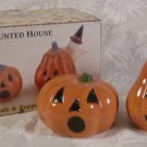 SAKURA DEBBIE MUMM HAUNTED HOUSE SALT & PEPPER SHAKERS