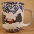 TIENSHAN FOLKCRAFT CABIN IN THE SNOW HOLIDAY MUGS - 4