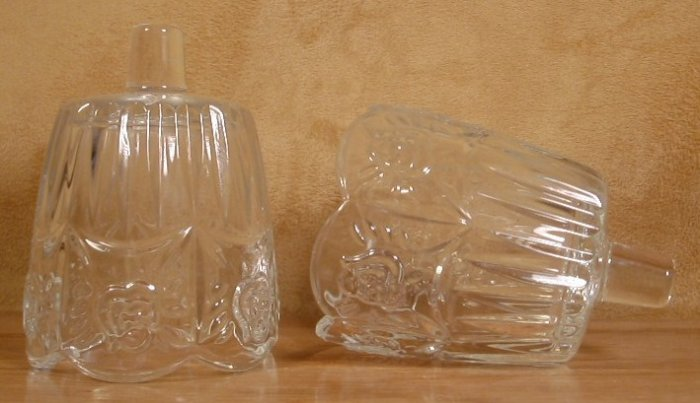 Home Interior Clear Roses Votive Holders Cups Peglites