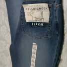 *SALE* FALLS CREEK WOMANS CLASSIC FIT JEANS 13/14 AVERAGE *NWT