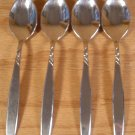 SUPREME STAINLESS USA IS SWIRL FLATWARE TABLESPOONS - 4 *SHIPS FREE*