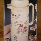 INTERNATIONAL CHINA HEARTLAND THERMAL CARAFE 1 LITER *NIB*