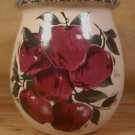 HOME & GARDEN PARTY APPLE MED. SPOON UTENSIL JAR U.S.A.