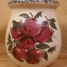 HOME & GARDEN PARTY APPLE SM. SPOON JAR CROCK U.S.A.