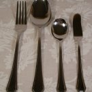 INTERNATIONAL STAINLESS FLATWARE CASINO 4 PC. LOT *NEW* *SHIPS FREE*