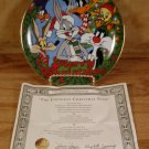 LOONEY TUNES CHRISTMAS L.E. COLLECTOR PLATE 1991