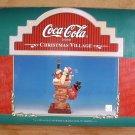 COCA-COLA 1997 SNOWMAN PARADE SANTA IN CHIMNEY*MIB*