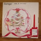 SANGO HOME FOR CHRISTMAS ROUND CHOP PLATE PLATTER *NIB*