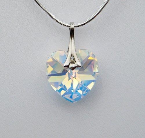 Crystal AB Swarovski Crystal Necklace