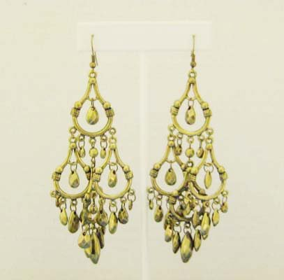 Bronze Chandelier Earings