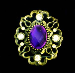 Purple Magesty Ring