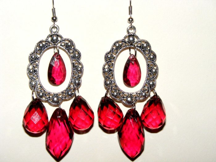 Victorian Nostalgia chandelier romantic earrings