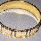 Trendy metal bangle bracelet one size