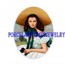 GONE WITH THE WIND SCARLETT UNSET PORCELAIN CAMEO CABO