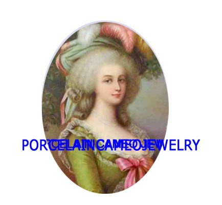PINK QUEEN MARIE ANTOINETTE UNSET CAMEO PORCELAIN CABO
