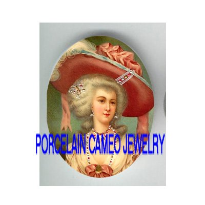 JEWELED QUEEN MARIE ANTOINETTE CAMEO PORCELAIN CABO