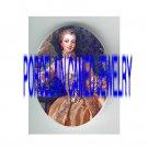 VICTORIAN PINK LACE DRESS ROYAL LADY * UNSET PORCELAIN CAMEO CAB