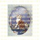 YELLOW TABBY KITTY CAT BUBBLE FAIRY PORCELAIN CAMEO CAB