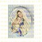 CATHOLIC VIRGIN MARY BABY JESUS MADONNA CHILD LILY UNSET PORCELAIN CAMEO CAB 22-11