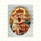 CATHOLIC CROWN VIRGIN MARY BABY JESUS MADONNA CHILDUNSET PORCELAIN CAMEO CAB 22-3