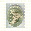 CATHOLIC VIRGIN MARY BABY JESUS MADONNA CHILD UNSET PORCELAIN CAMEO CAB 23-12