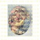 CATHOLIC CROWN VIRGIN MARY BABY JESUS MADONNA CHILD ROSE UNSET PORCELAIN CAMEO CAB 23-22