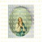 CATHOLIC  VIRGIN MARY NORTH STAR * UNSET PORCELAIN CAMEO CAB