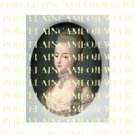 FRENCH QUEEN MARIE ANTOINETTE UNSET PORCELAIN CAMEO CAB 1-20