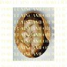CATHOLIC VIRGIN MARY BABY JESUS * UNSET PORCELAIN CAMEO CAB 24-16