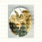 CATHOLIC VIRGIN MARY BABY JESUS MADONNA CHILD ANGEL UNSET PORCELAIN CAMEO CAB 24-17