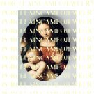 CATHOLIC VIRGIN MARY BABY JESUS MADONNA CHILD UNSET PORCELAIN CAMEO CAB 25-15