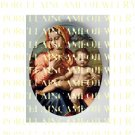CATHOLIC VIRGIN MARY BABY JESUS MADONNA CHILD UNSET PORCELAIN CAMEO CAB 25-18