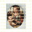 CATHOLIC VIRGIN MARY BABY JESUS MADONNA CHILD UNSET PORCELAIN CAMEO CAB 25-19