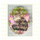 MAINE COON BUTTERFLY FAIRY CAT ROSE * UNSET PORCELAIN CAMEO CAB