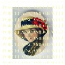 VICTORIAN LADY WITH POPPY HAT FLOWER PORCELAIN CAMEO