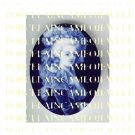 FRENCH QUEEN DANISH BLUE MARIE ANTOINETTE PORCELAIN CAMEO CAB