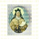 RELIGIOUS CATHOLIC SAINT TERESA PORCELAIN CAMEO CAB