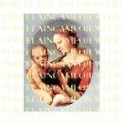 VIRGIN MARY BABY JESUS MADONNA CHILD PORCELAIN CAMEO 7-7