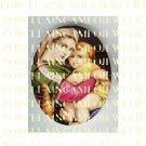 VIRGIN MARY BABY JESUS MADONNA CHILD PORCELAIN CAMEO 7-1