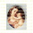 VIRGIN MARY BABY JESUS MADONNA CHILD PORCELAIN CAMEO 8-4