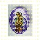 PRAYING  VIRGIN MARY OUR LADY PORCELAIN CAMEO CAB