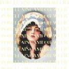 ART DECO VINTAGE BLACK HAIR FLAPPER LADY CAMEO CAB