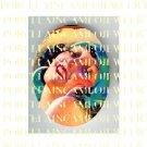 ART DECO VINTAGE FLAPPER LADY * UNSET PORCELAIN CAMEO CAB 39-14