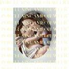 CATHOLIC VIRGIN MARY JESUS MADONNA CHILD PORCELAIN CAMEO CAB 11-2
