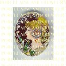 ALPHONSE MUCHA ART NOUVEAU FLOWER LADY PORCELAIN CAMEO CAB 58-13