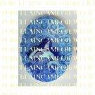 ART NOUVEAU ALPHONSE MUCHA  BLUE STAR PORCELAIN CAMEO CAB