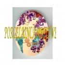 ART NOUVEAU ALPHONSE MUCHA FRUIT LADY PORCELAIN CAMEO CAB 61-14