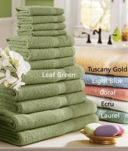 12 Piece Inspiration Towel Set