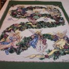 Angel of Wreath Tapestry Panel, Lena Liu  - 24.95-FS